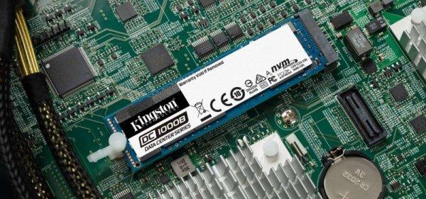Kingston Technology DC1000B M.2 240 GB PCI Express 3.0 3D TLC NAND  NVMe