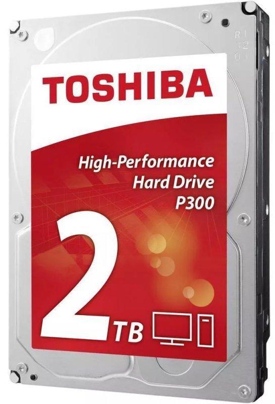 """Toshiba P300 2TB 3.5"""" Serial ATA III"""
