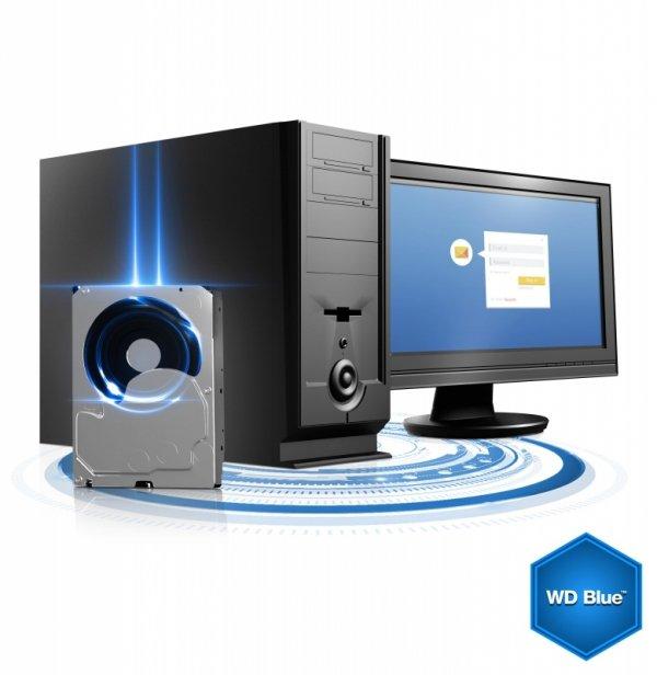 """Western Digital Blue 3.5"""" 2000 GB Serial ATA III"""