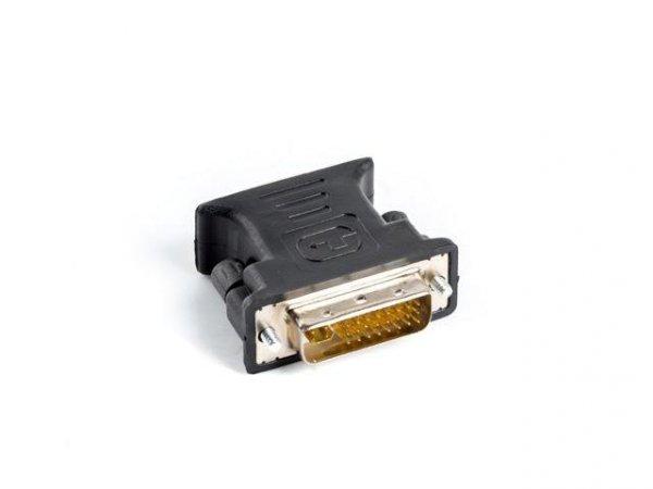 Lanberg AD-0012-BK adapter kablowy DVI-I VGA (D-Sub) Czarny