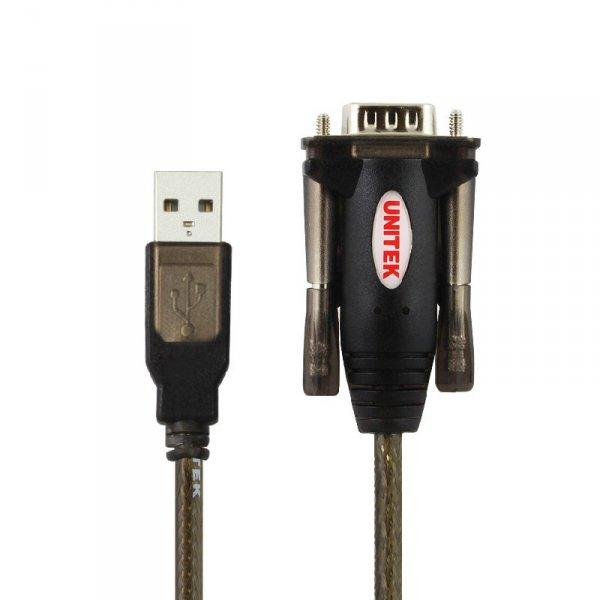 UNITEK Y-105 cable gender changer USB v. 1.1. RS232 Czarny