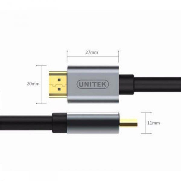 UNITEK KABEL HDMI PREMIUM 2.0, 2M, Y-C138LGY