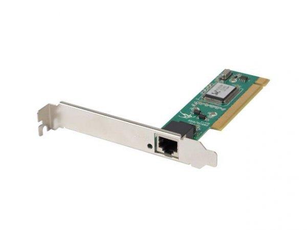 Karta sieciowa Lanberg PCI-100-001 (PCI; 1x 10/100Mbps)