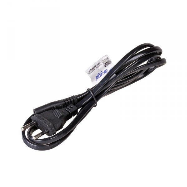 Kabel Akyga AK-RD-01A (Euro / Euro 2-Pin / IEC 320 C7 M - Euro M; 1,5m; kolor czarny)