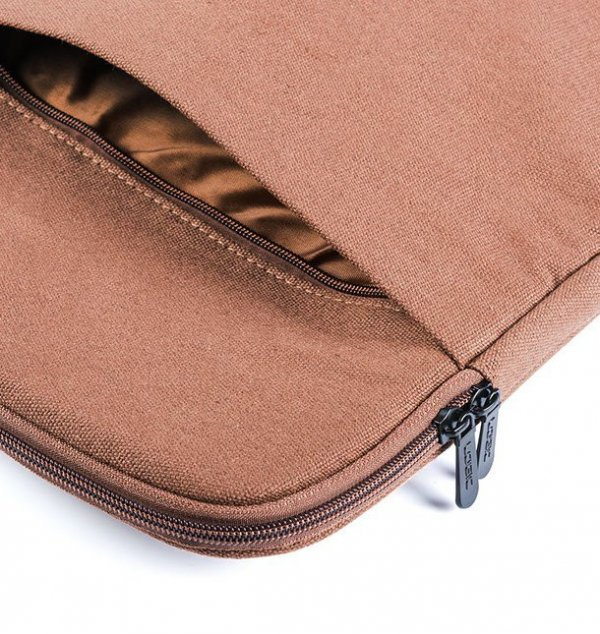 Torba  LOGIC Plush FUT-LC-PLUSH-15-BROWN (kolor brązowy)