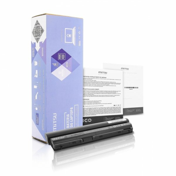 Bateria do laptopa MITSU BC/DE-E6220 (49 Wh; do laptopów Dell)