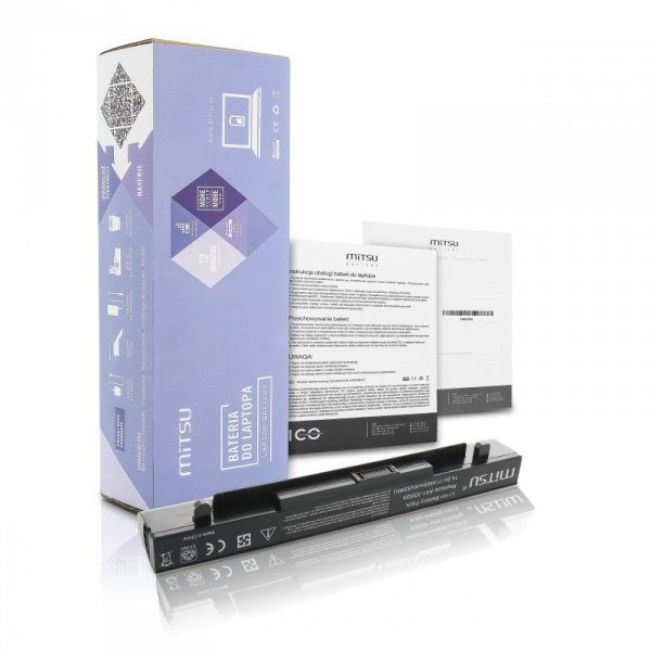 Bateria do laptopa MITSU BC/AS-X550H (64 Wh; do laptopów Asus)