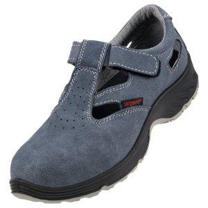 Sandały bezpieczne zamszowe 302 S1