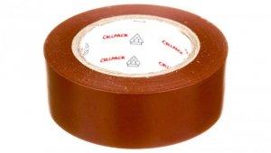Taśma izolacyjna 128 0.15-19-10 PVC/brązowa