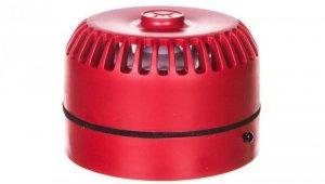 Sygnalizator akustyczny ROLP 9-28VDC 102dB czerwony płytki 32 tony CNBOP ROLP/SV/R/S  540501FULL-0389X