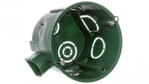 Puszka osprzętowa pojedyncza 65x60mm zielona Multifix Modulo IMT35101