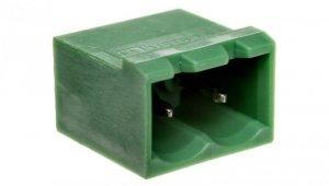 Gniazdo pinowe 2P 320V 12A zielone MSTBVA 2,5/ 2-G 1755516