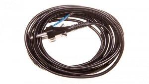 Przewód przyłączeniowy bez wyłącznika /woreczek/ 300cm czarny SP-300/2X0,75/WOR-CZN YNS10000461