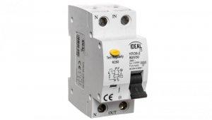 Wyłącznik różnicowo-nadprądowy 2P B 20A 0,03A typ AC KRO6-2/B20/30 23219