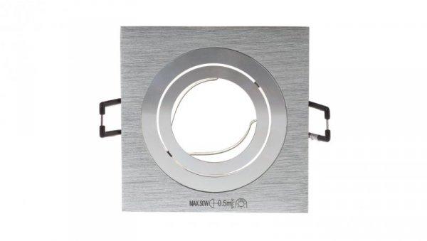 Oprawa punktowa 1x50W GX5,3 IIIkl. 12V IP20 SEIDY CT-DTL50-AL kwadrat 18281