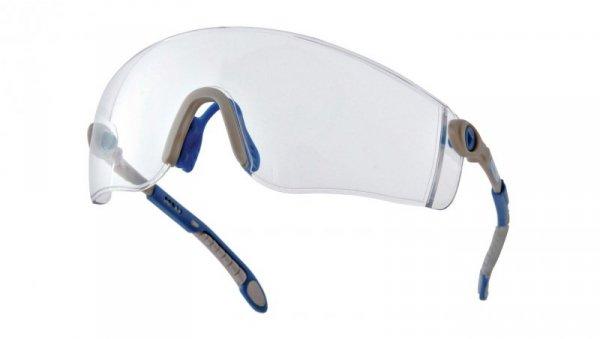 Okularyz poliwęglanu szaro-niebieskieUV400 LIPA2BLIN
