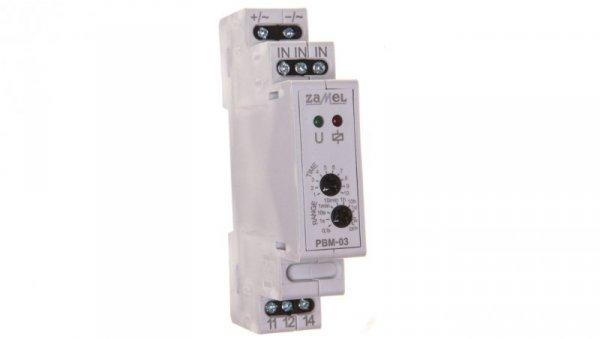 Przekaźnik bistabilny z wyłącznikiem czasowym 24V AC/DC PBM-03/24V EXT10000066