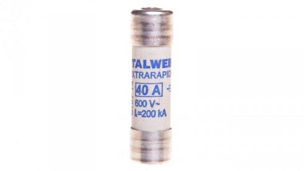 Wkładka bezpiecznikowa cylindryczna 14x51mm 40A aR 690V CH-S14UQ 002635117