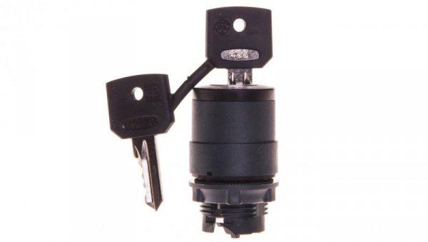 Przełącznik 2 położeniowy klucz 22mm 1Z z samopowrotem XB5AG61