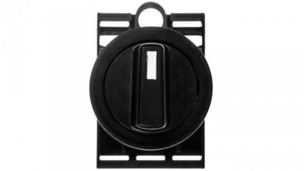 Napęd przycisku 22mm czarny pokrętny 0-1 W0-N-NEF22-PA S