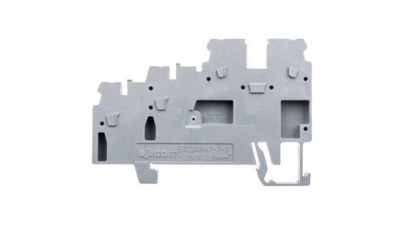 Złączka szynowa 3-przewodowa do elementow wykonawczych szara 270-572  /50szt./