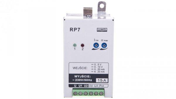 Sterownik mocy 1-fazowy max. prąd wyjścia 15A bez atestu KJ RP7 300