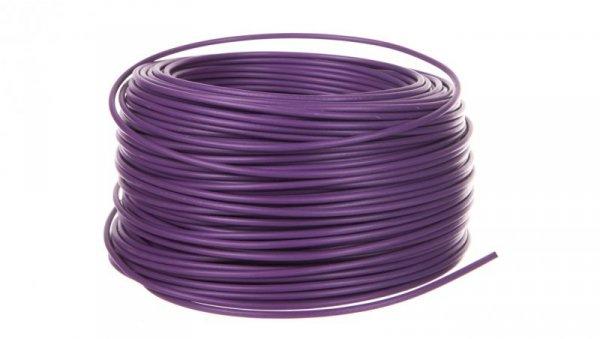 Przewód instalacyjny H07V-K 2,5 fioletowy 4520072 /100m/