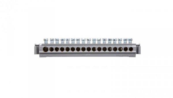 Listwa przyłączeniowa 17-otworów 16x16+1x25 mm2 004825