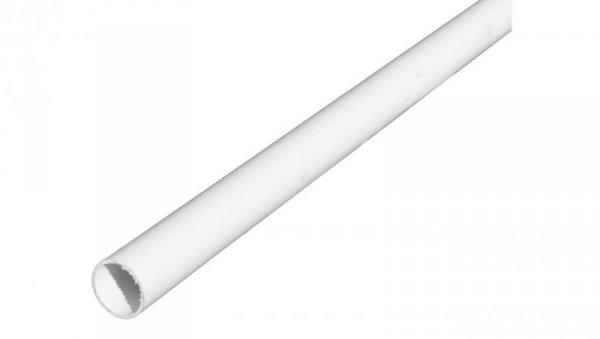 Rura elektroinstalacyjna sztywna gładka RL 16 biała 68373 /2m/