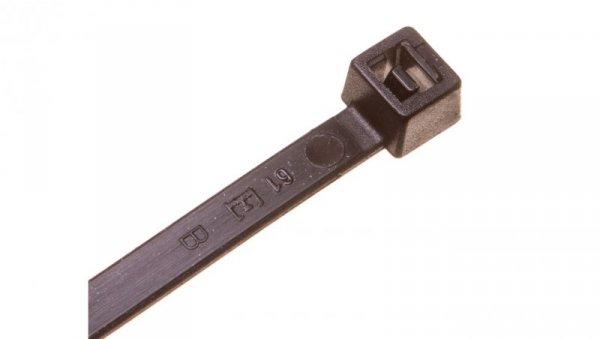 Opaska kablowa 160x4,5 czarna UV BMN1648E /100szt./