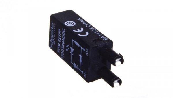 Moduł zabezpieczający warystor + LED 110-230V AC/DC RZM021FP