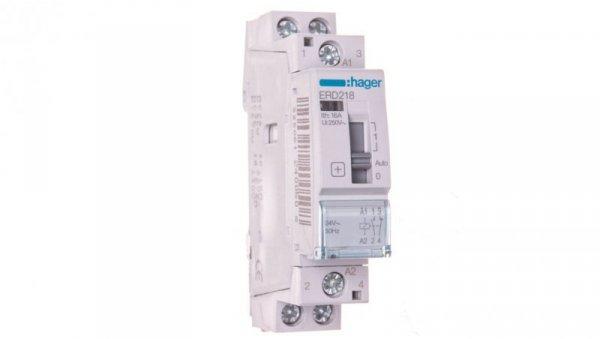 Przekaźnik instalacyjny 16A 24V AC 1NO+1NC ERD218