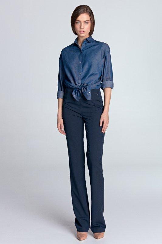 Koszula oversize K53 Jeans - Nife