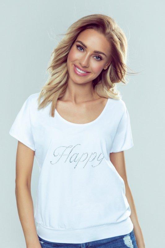 Bluzka Model Happy White - Eldar