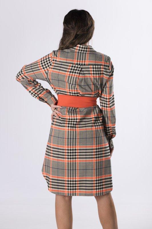koszulowa sukienka szmizjerka