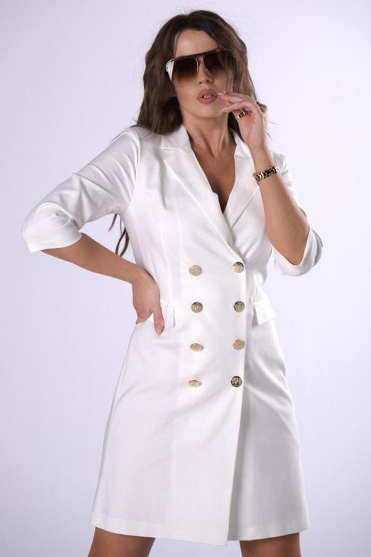 sukienka o żakietowym kroju