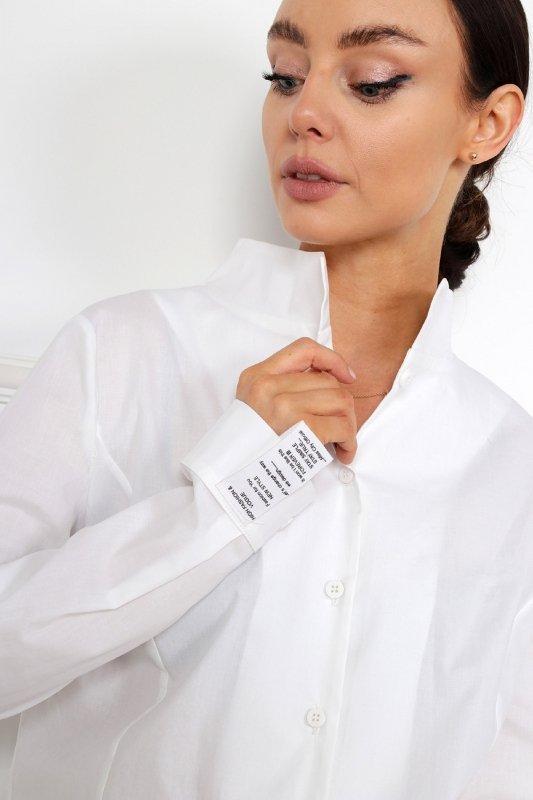 koszula z wydłużonym tyłem