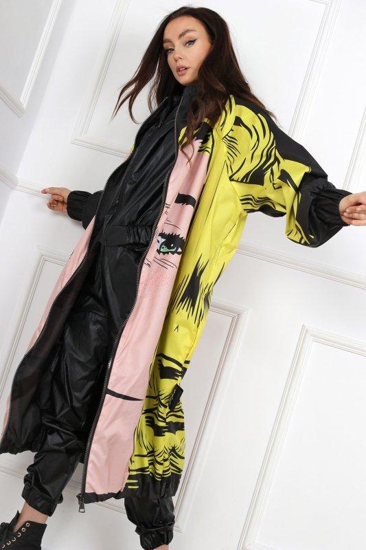 długi płaszcz oversize