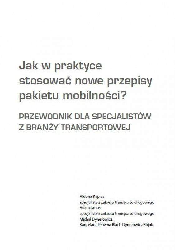Jak w praktyce stosować nowe przepisy pakietu mobilności?