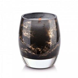 CRISTIE Świeca (wkład do lampionu)10x8cm czarny marmur