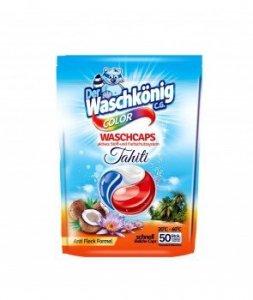 WASCHKONIG Kapsułki 50p Tahiti color    900g do prania