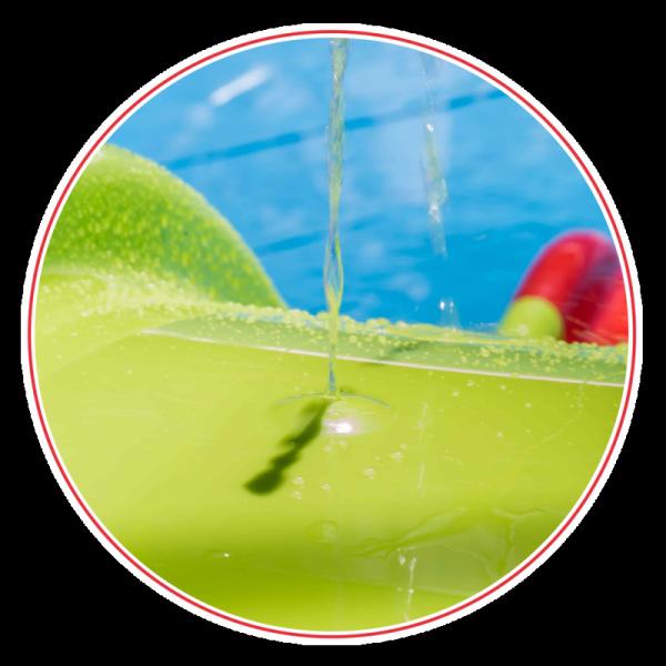 WOOPIE Duża Zjeżdżalnia Sunny 180 cm z Natryskiem Wodnym Ślizg Wodny