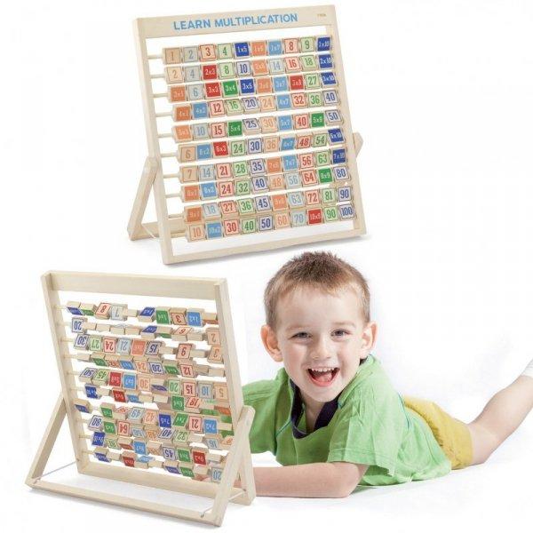 Drewniana Tabliczka Mnożenia Nauka Matematyki - Viga Toys