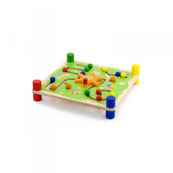 Drewniana Gra Edukacyjna - Trop i Śledź - Viga Toys