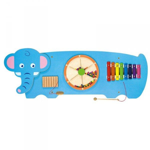 Tablica Sensoryczna Manipulacyjna Słoń - Viga Toys