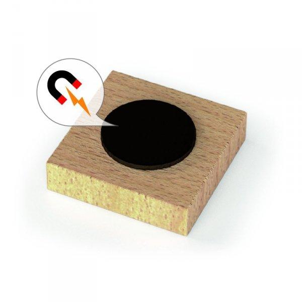 Zestaw Drewnianych Magnetycznych Cyferek 40 elementów - VIGA Toys