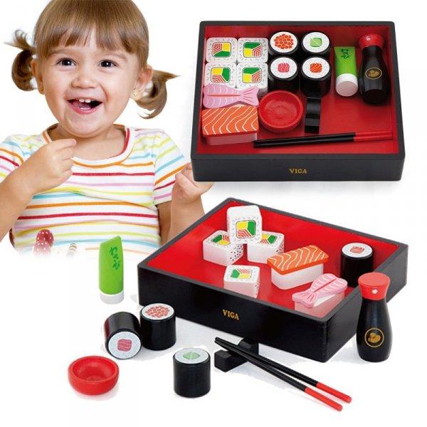 Zestaw Sushi Nauka Jedzenia Pałeczkami - Viga Toys
