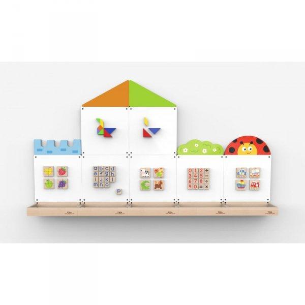 Tablica magnetyczna - Domek i biedronka - VIGA Toys