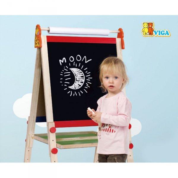 Tablica Do Rysowania Dwustronna Duża Magnetyczna - Viga Toys