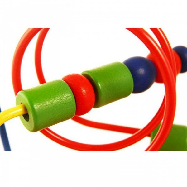 Przeplatanka Sensoryczna Drewniana Edukacyjny Labirynt - Viga Toys